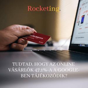Online vásárlás Rocketing