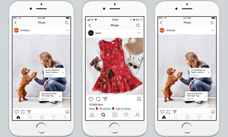 instagram shopping Rocketing